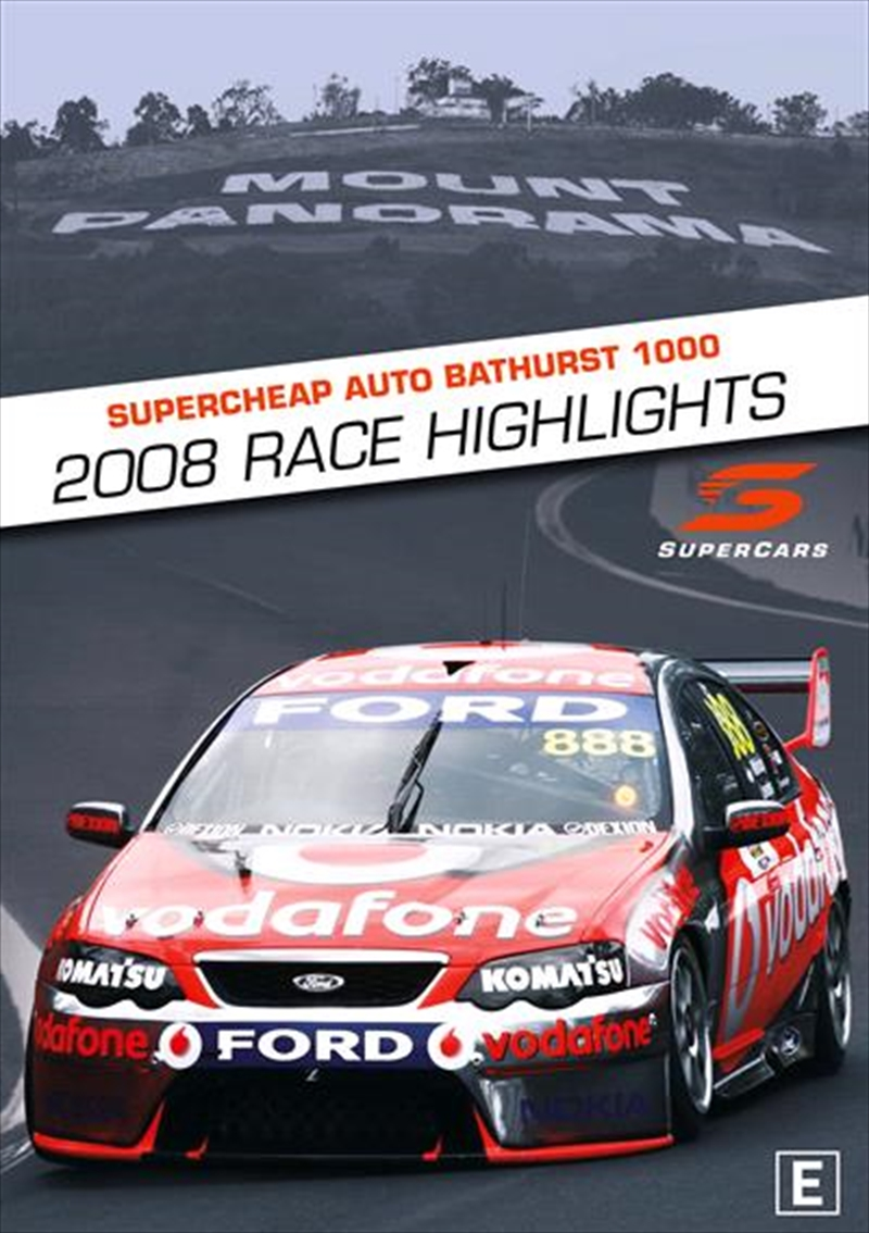 V8 Supercars - 2008 Bathurst 1000 Highlights | DVD