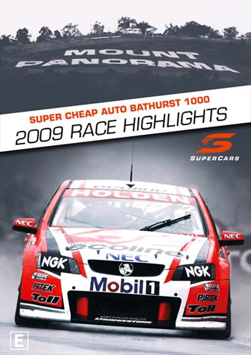 V8 Supercars - 2009 Bathurst 1000 Highlights | DVD