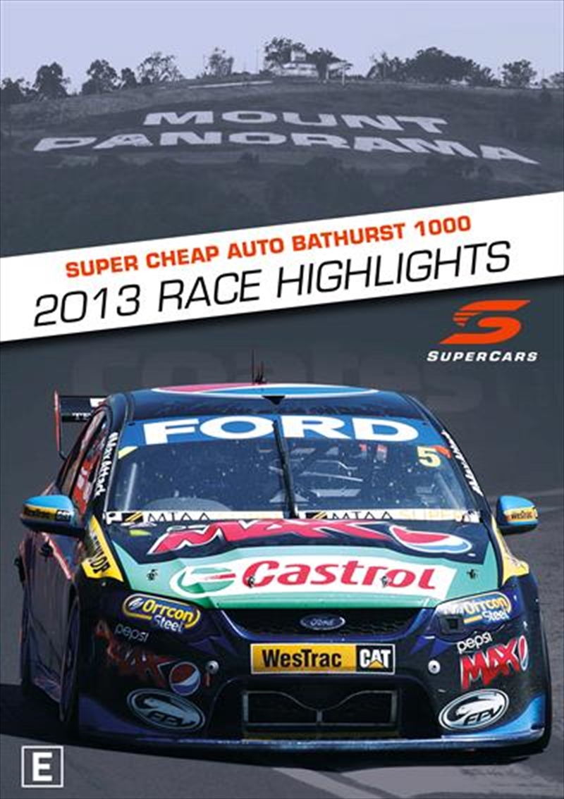 V8 Supercars - 2013 Bathurst 1000 Highlights | DVD