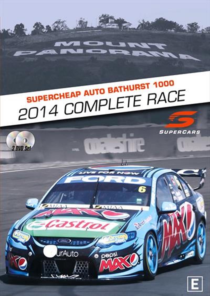 V8 Supercars - Bathurst 1000 Complete Race 2014 | DVD