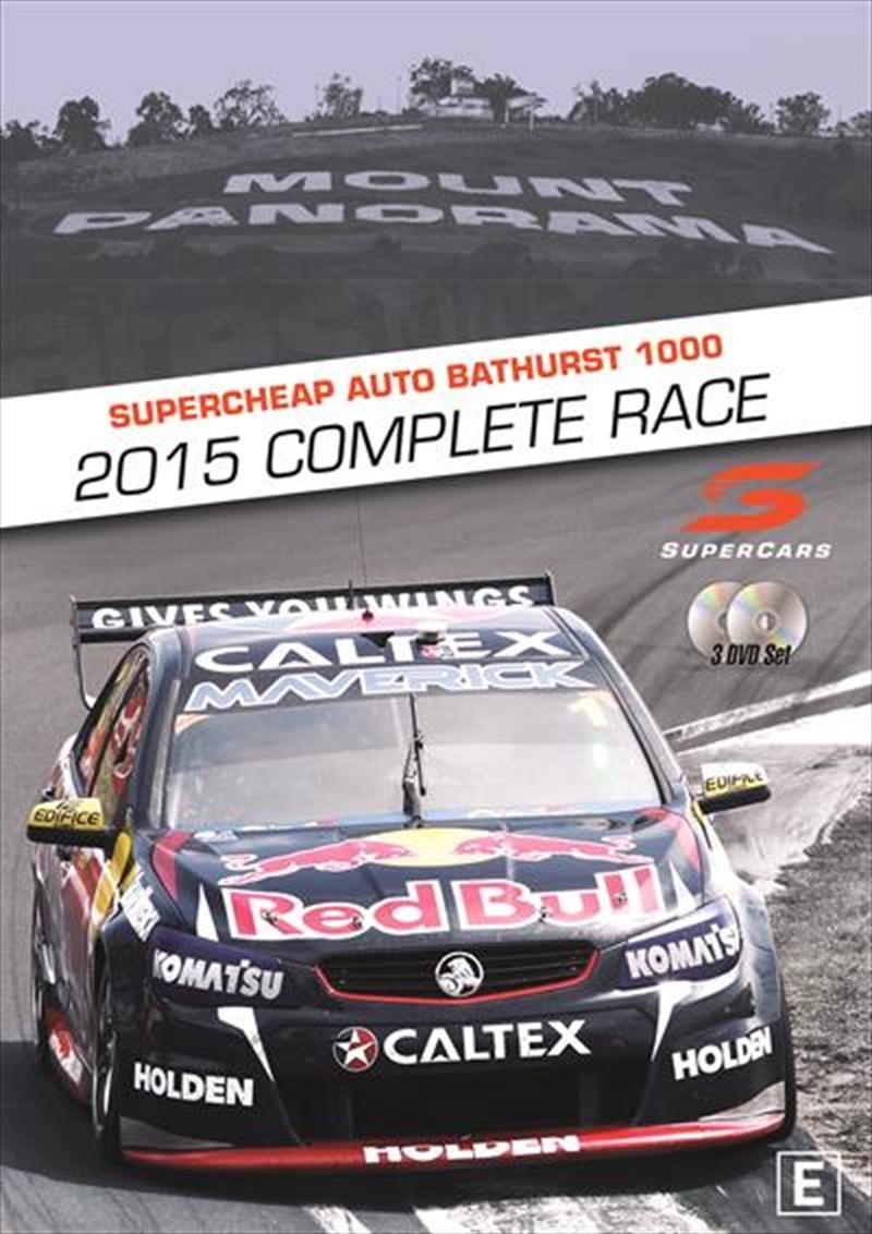 V8 Supercars - Bathurst 1000 Complete Race 2015   DVD