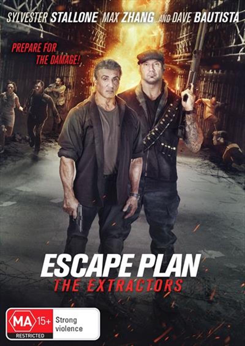 Escape Plan 3 - The Extractors | DVD