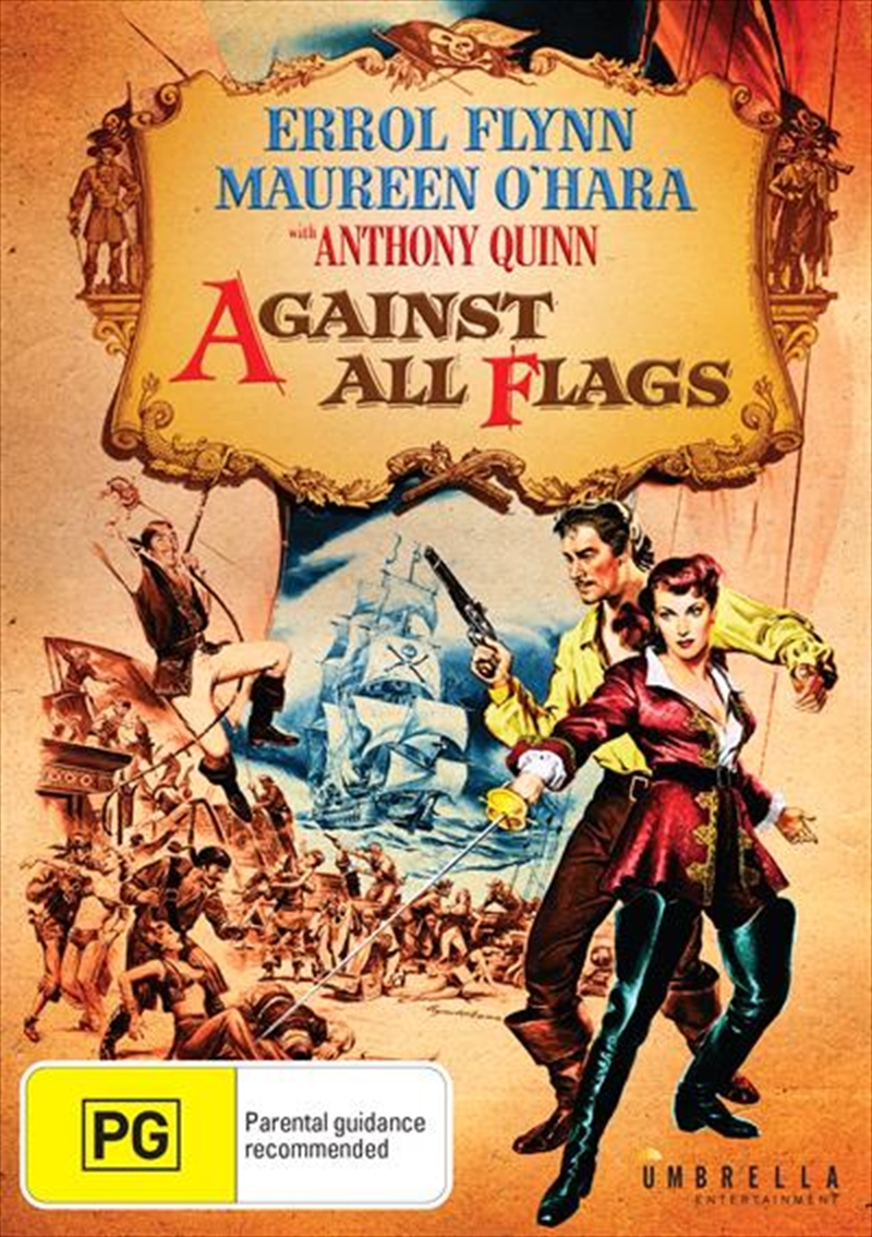 Against All Flags | DVD