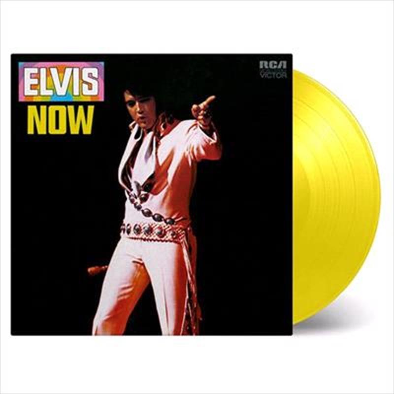 Elvis Now - Limited Edition Yellow Coloured Vinyl | Vinyl