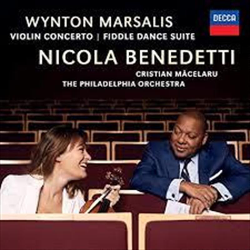 Marsalis Wynton - Violin Concerto - Fiddle Dance Suite   CD