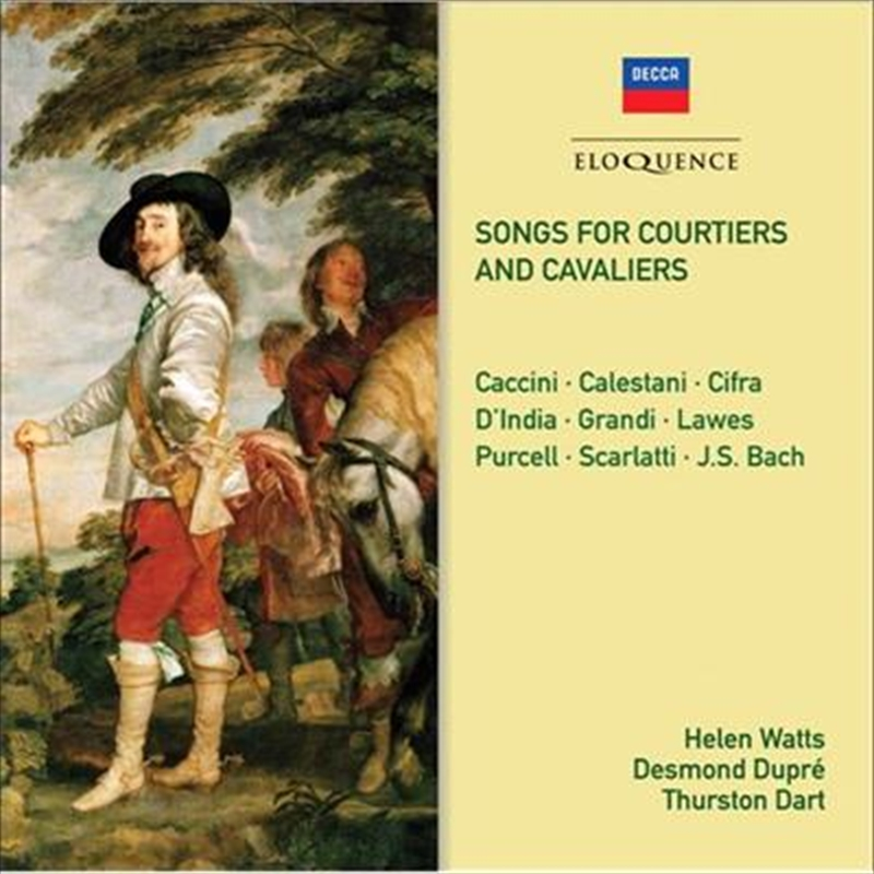 Songs For Courtiers And Cavaliers | CD