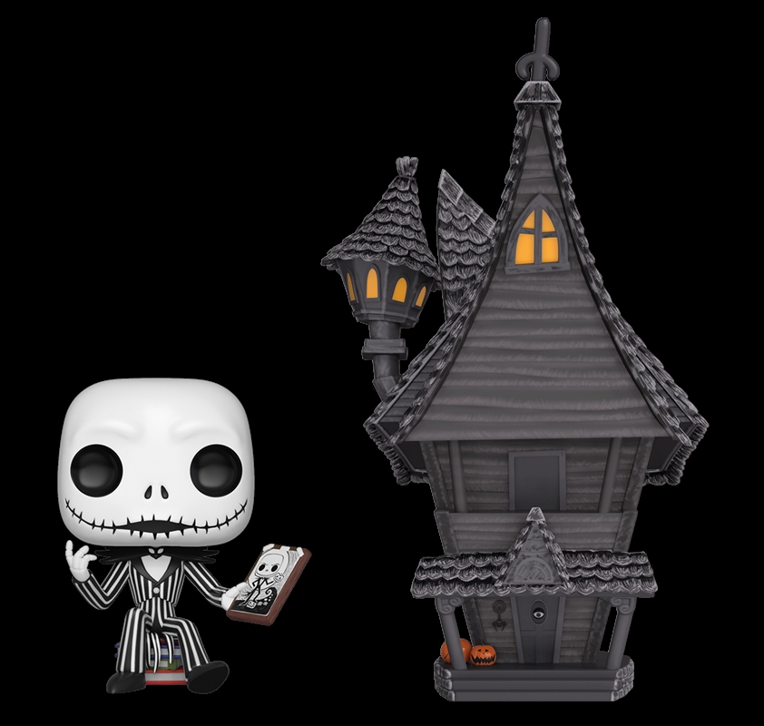 Nightmare Before Christmas Houses.The Nightmare Before Christmas Jack With Jack S House Pop Town