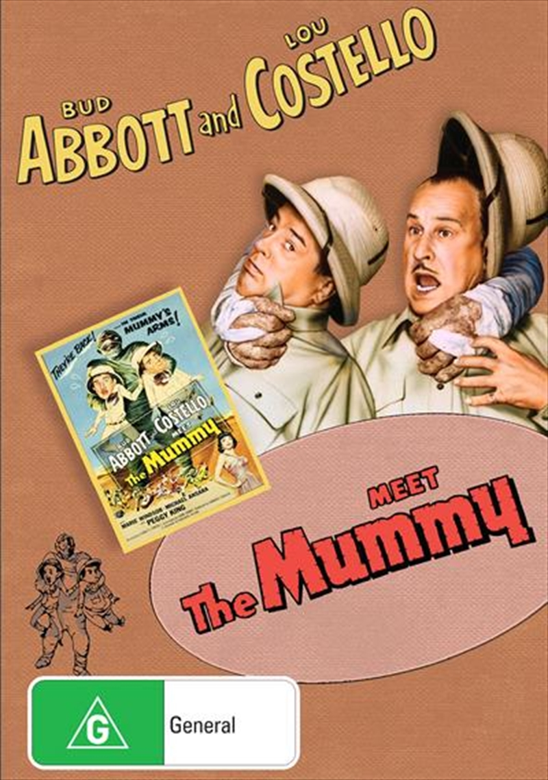 Abbott And Costello Meet The Mummy | DVD