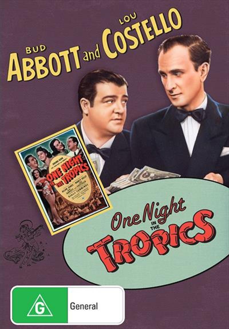 One Night In The Tropics | DVD