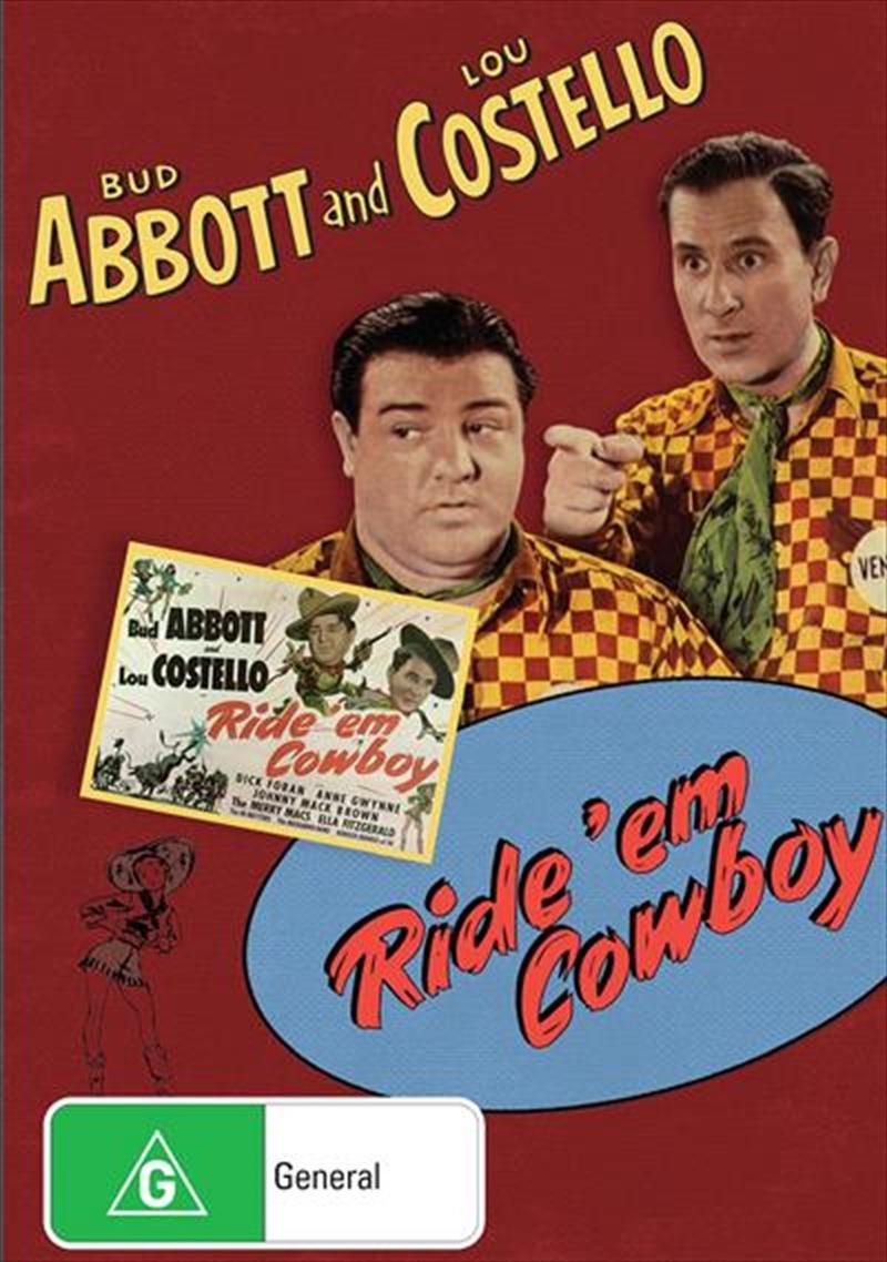 Ride 'em Cowboy | DVD