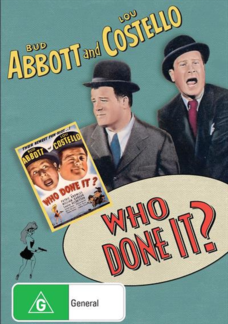 Who Done It? | DVD