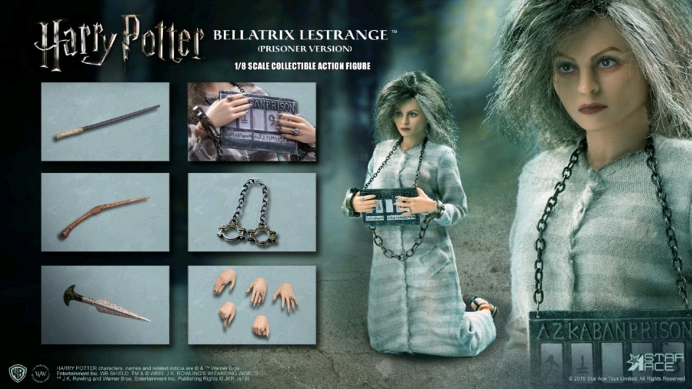 Harry Potter - Bellatrix Lestrange (Prisoner) 1:8 Scale Action Figure | Miscellaneous