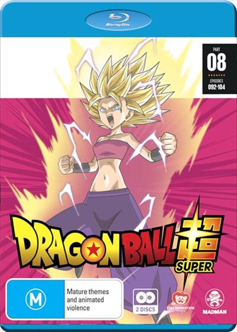 Dragon Ball Super - Part 8 - Eps 92-104 | Blu-ray