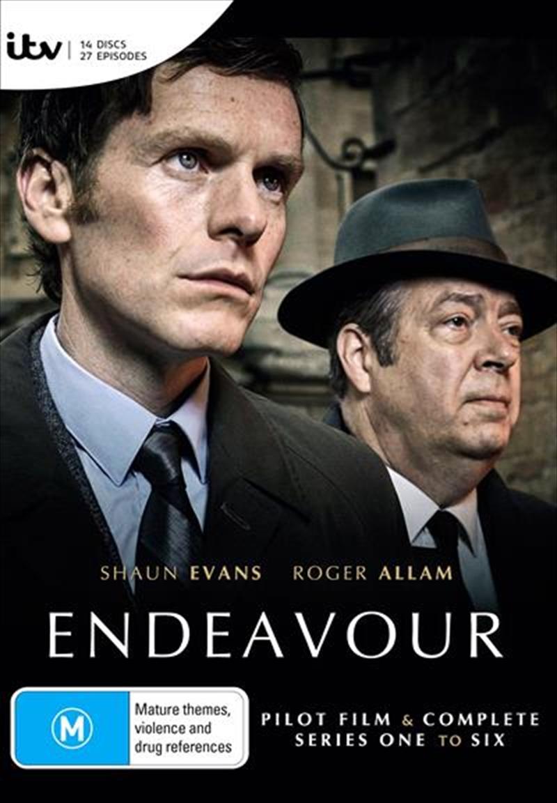 Endeavour - Series 1-6   Boxset   DVD