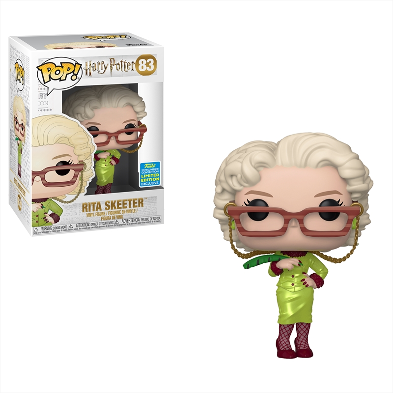 Harry Potter - Rita Skeeter Pop! SDCC 19 RS | Pop Vinyl