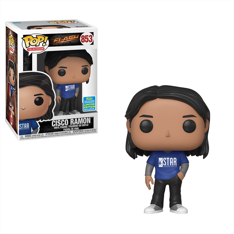 Flash - Cisco Ramon Pop! SDCC 19 RS | Pop Vinyl