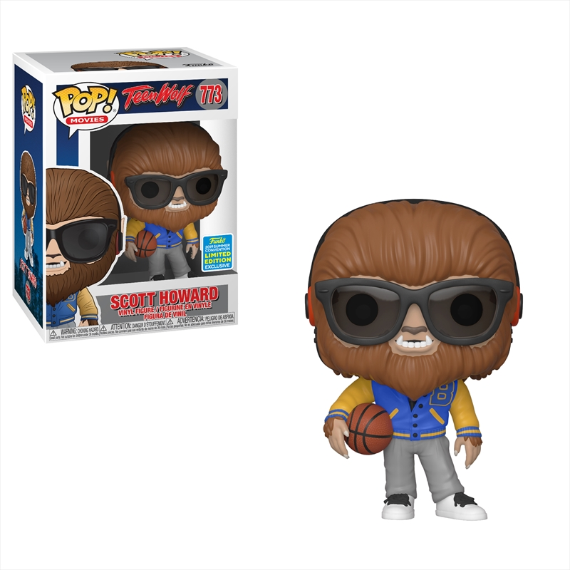 Teen Wolf - Scott Howard Pop! SDCC 19 RS | Pop Vinyl