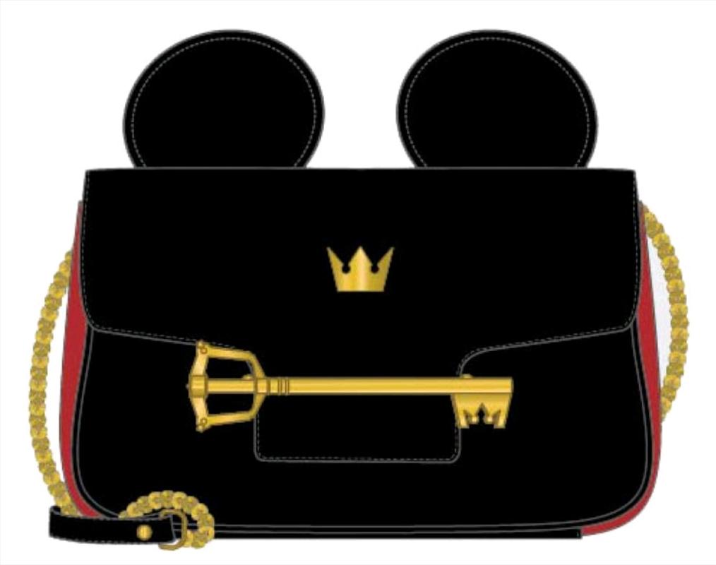Kingdom Hearts - Mickey Key Crossbody Bag | Apparel