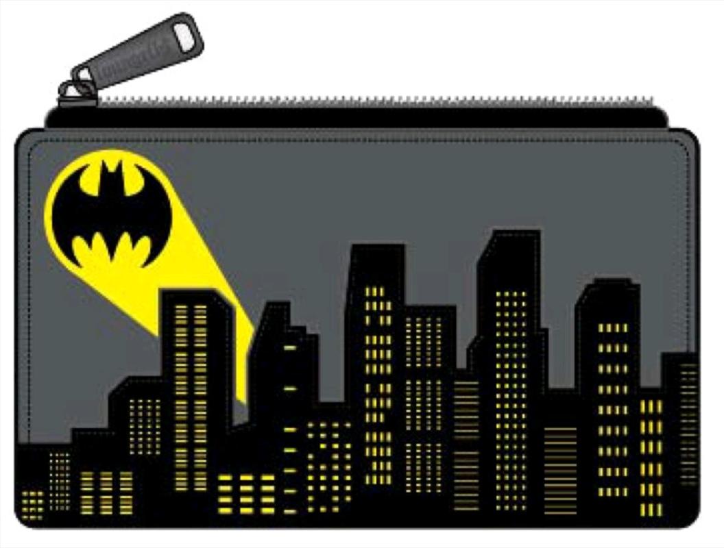 Batman - Batsignal Flap Purse   Apparel