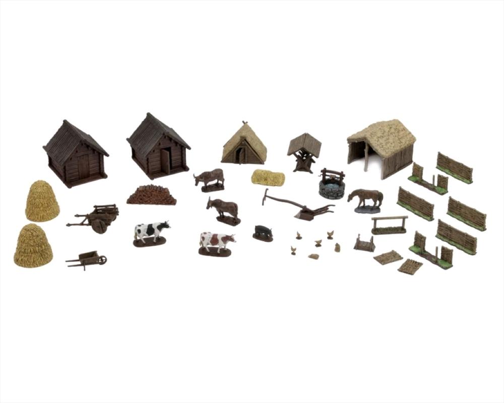 WizKids - Medieval Farm 4D Setting | Merchandise