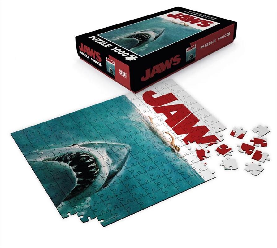 Jaws Movie Poster 1000 Piece Puzzle | Merchandise