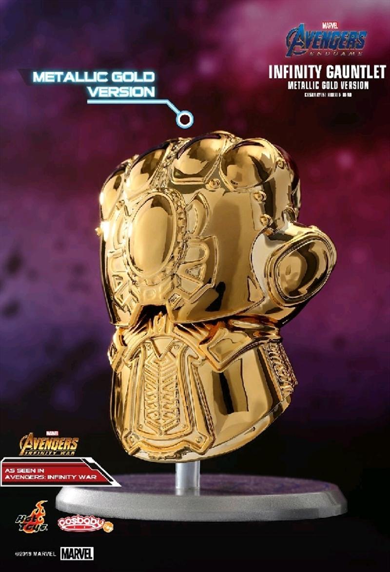 Avengers 4: Endgame - Infinity Gauntlet Metallic Cosbaby | Merchandise