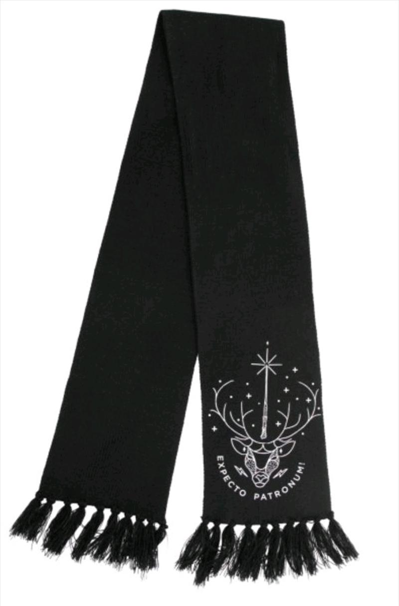 Harry Potter - Patronus Glow Knit Scarf | Apparel