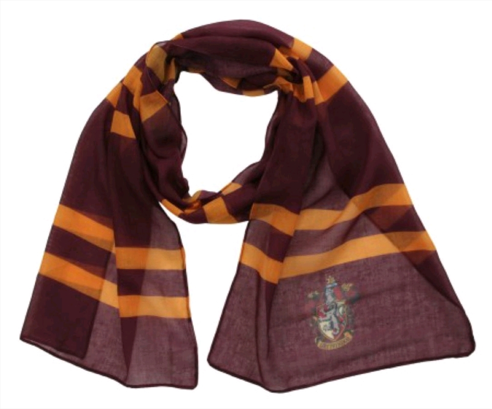 Harry Potter - Gryffindor Lightweight Scarf | Apparel