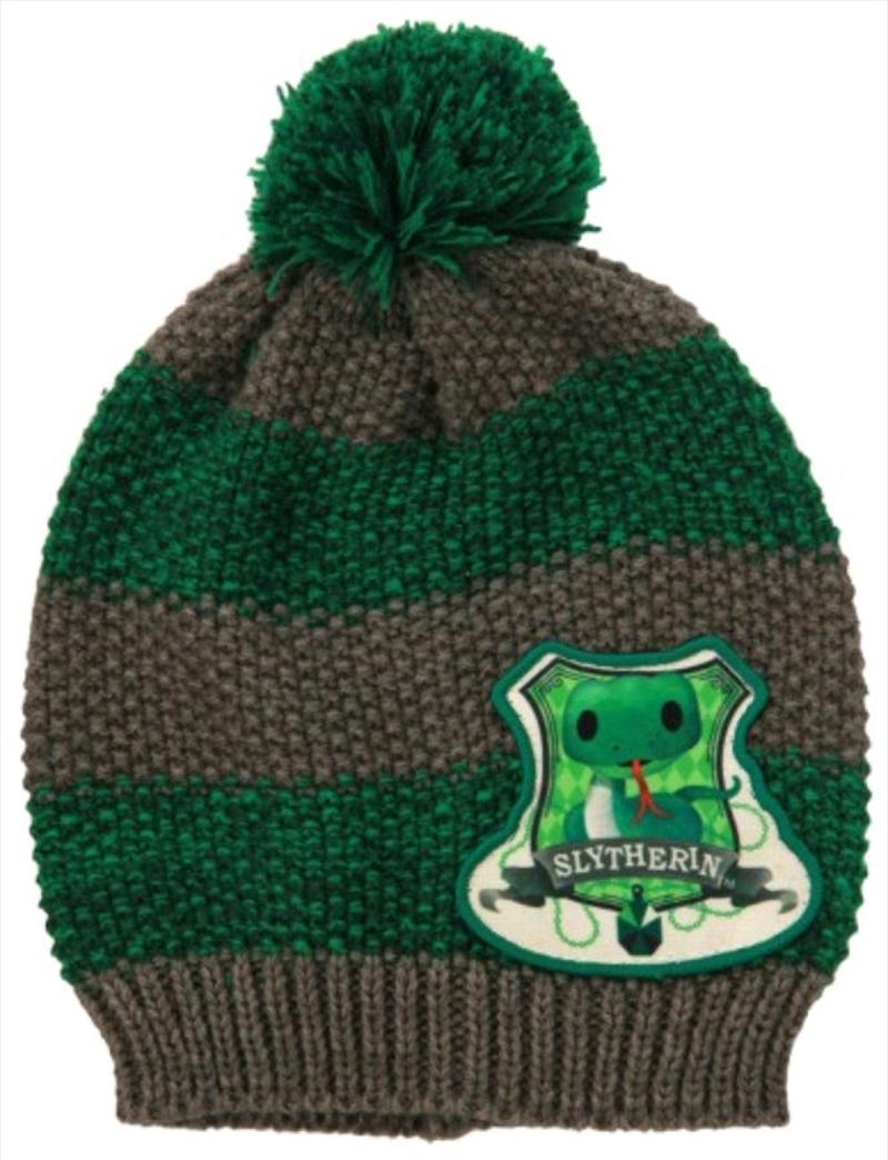 Harry Potter - Slytherin Toddler Knit Beanie | Apparel