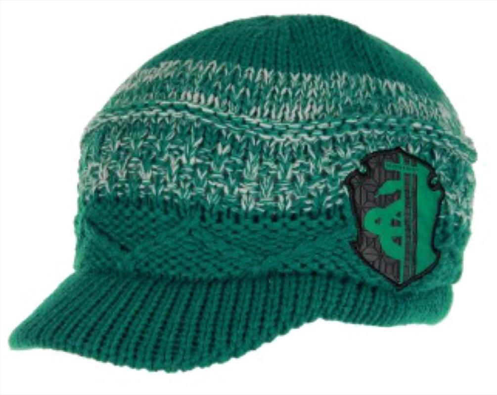 Harry Potter - Slytherin Knit Brim Cap | Apparel