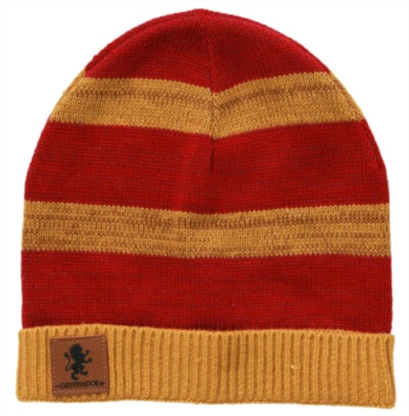 Harry Potter - Gryffindor Heathered Knit Beanie | Apparel