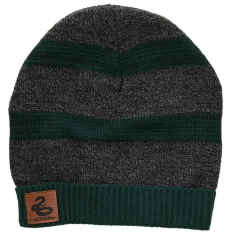 Harry Potter - Slytherin Heathered Knit Beanie | Apparel