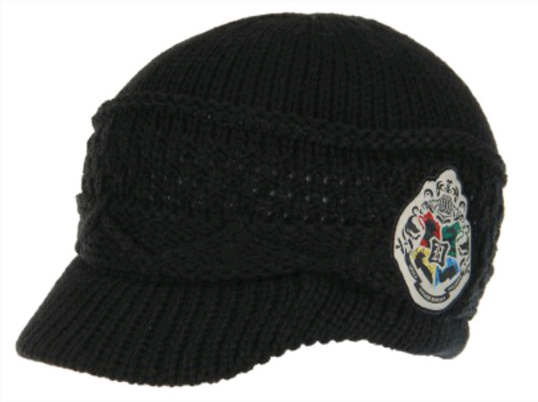 Harry Potter - Hogwarts Knit Brim Cap | Apparel