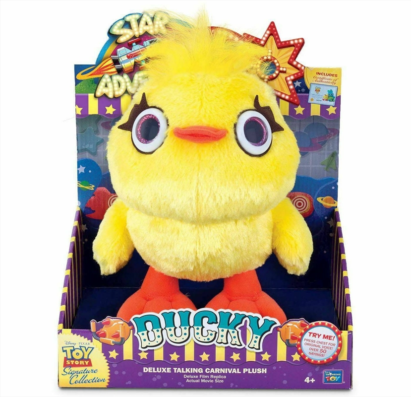 "Toy Story Ducky 9"" Signature Range Talking Toy 