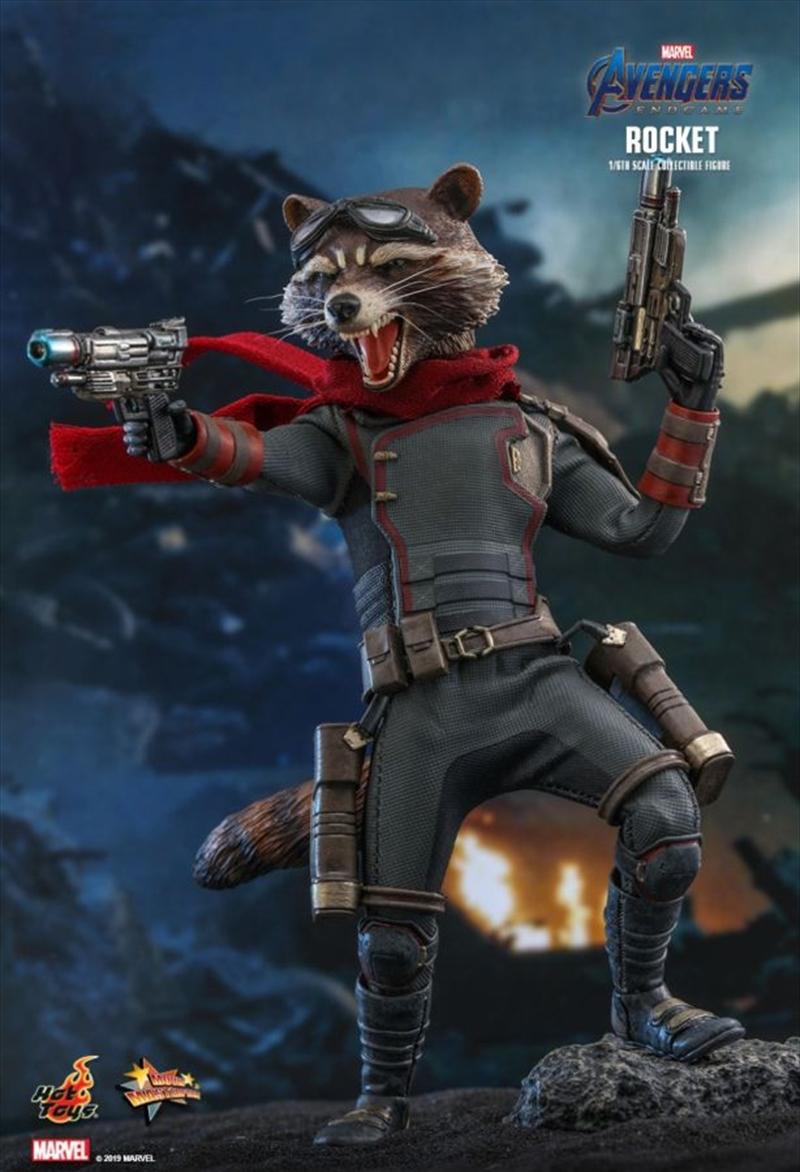 Avengers 4: Endgame - Rocket Raccoon 1:6 Scale Action Figure | Merchandise