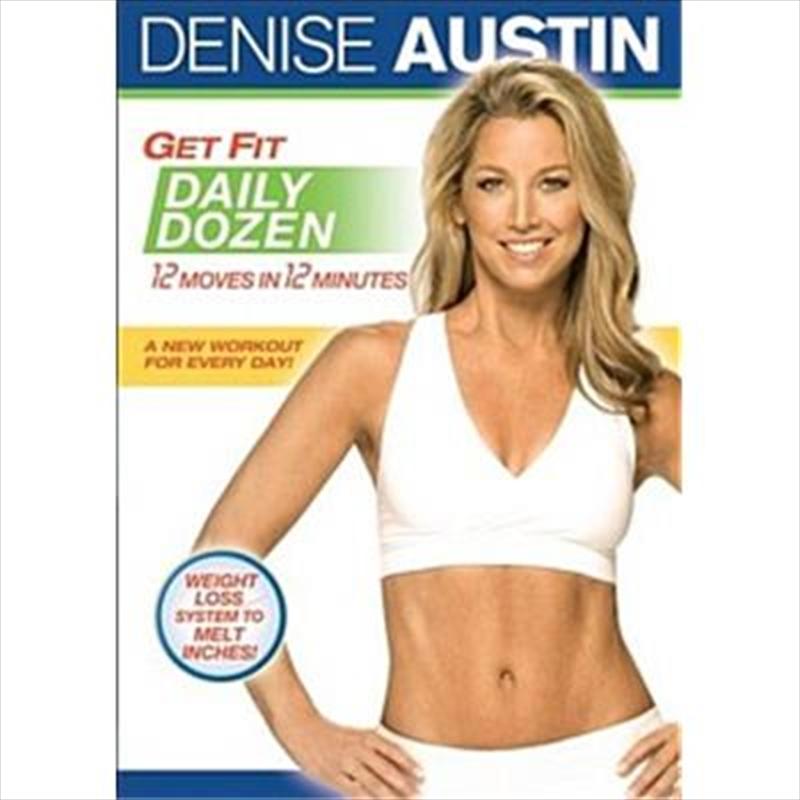 Denise Austin: Get Fit Daily Dozen | DVD