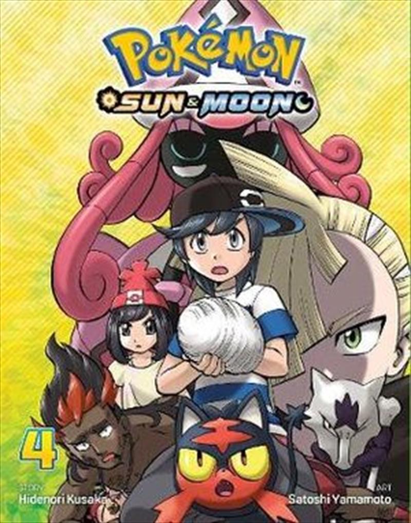 Pokemon - Sun And Moon Vol 4 | Paperback Book