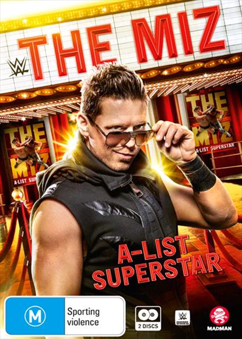 WWE - The Miz - A-List Superstar | DVD