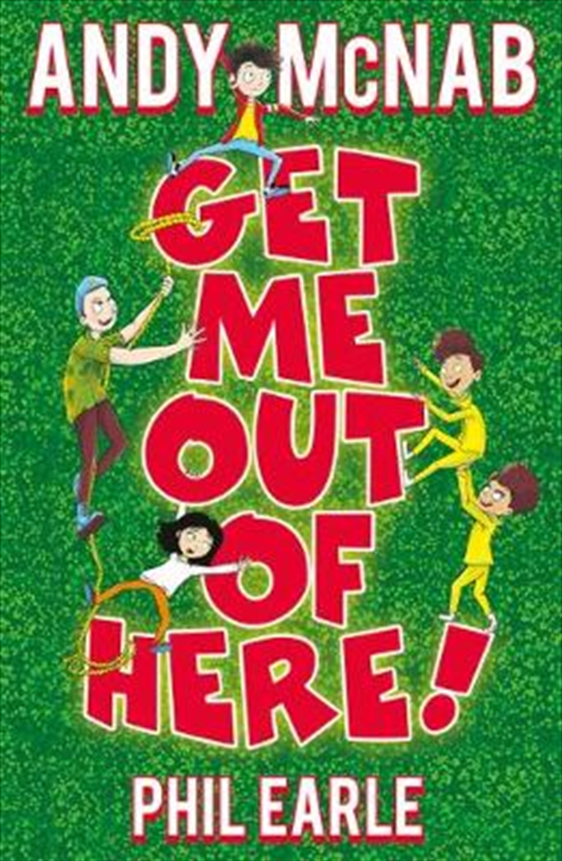Get Me Out Of Here | Paperback Book