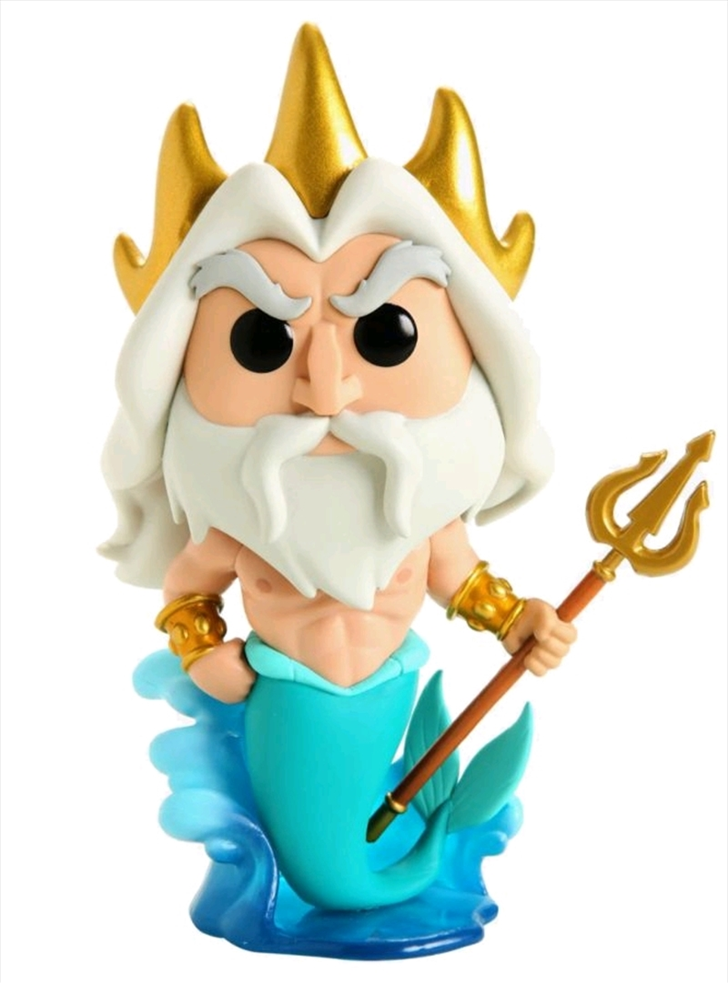 "The Little Mermaid - King Triton US Exclusive 6"" Pop! Vinyl [RS] 