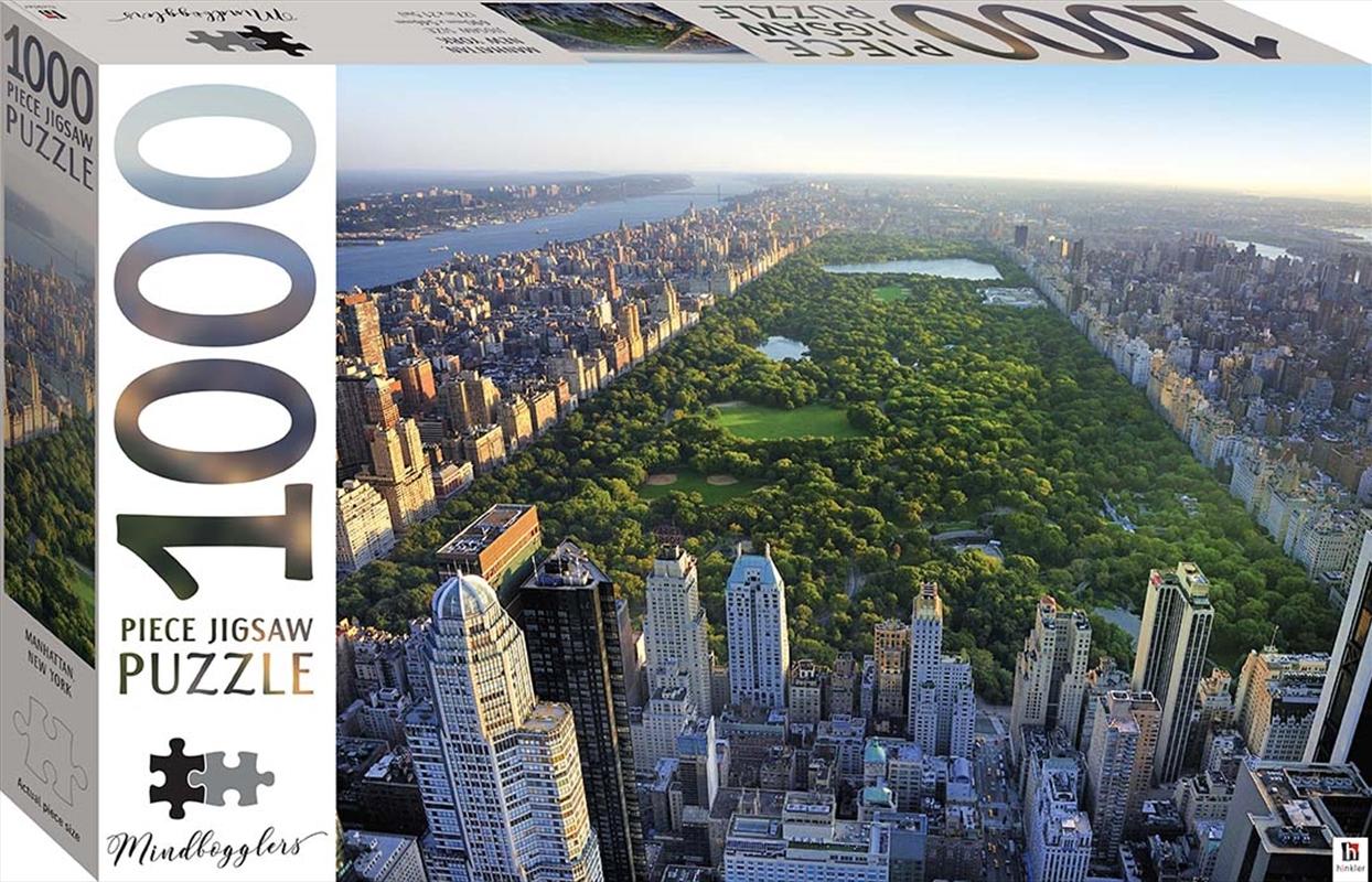 Mindbogglers 1000 Piece Jigsaw: Manhattan New York | Merchandise