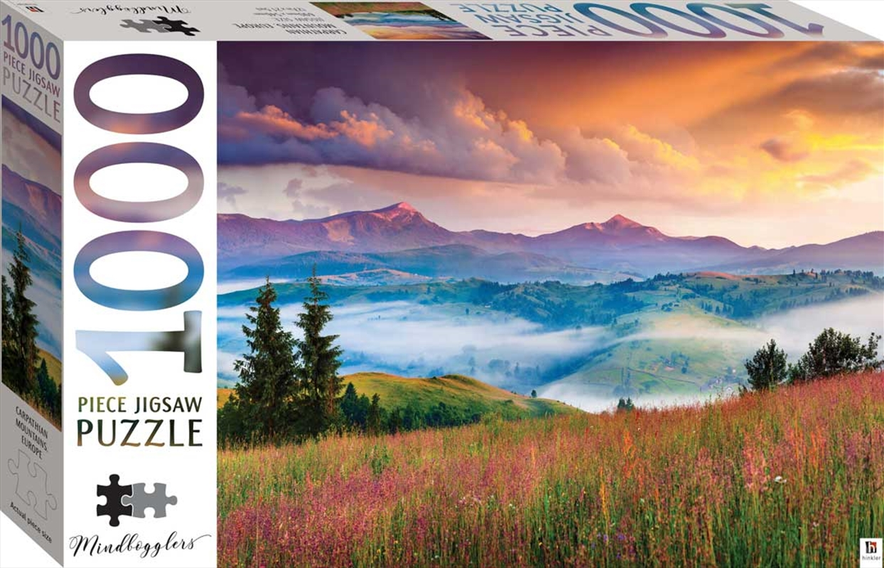 Mindbogglers Series 13: Carpathian Mountains, Europe 1000 Piece Puzzle | Merchandise