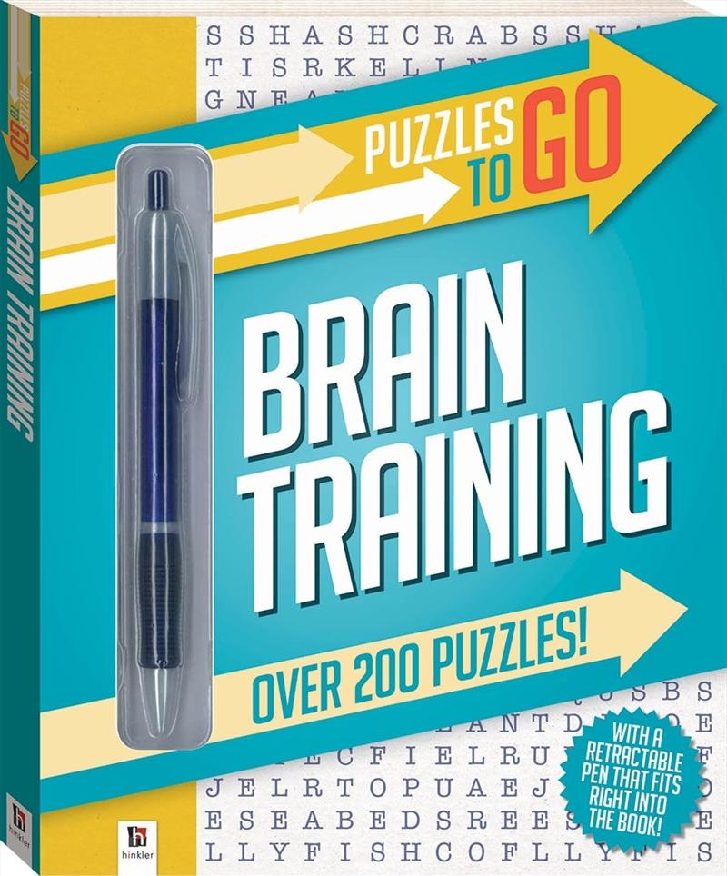 Puzzles to Go Series 2: Brain Training | Paperback Book