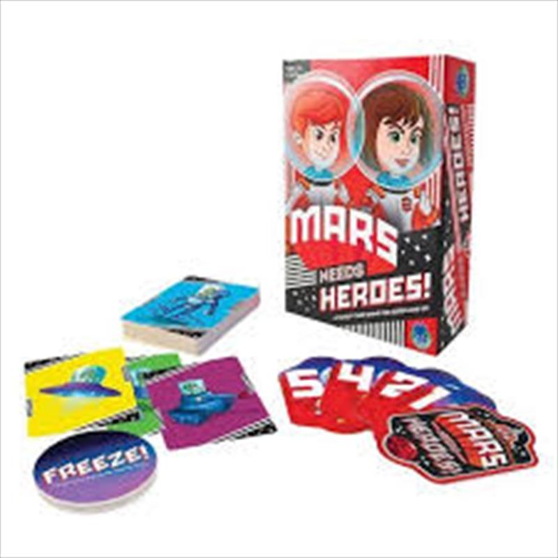 Mars Needs Heroes   Merchandise