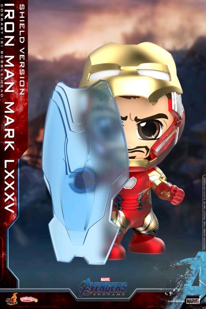 Avengers 4: Endgame - Iron Man Mark LXXXV Shield Cosbaby   Merchandise