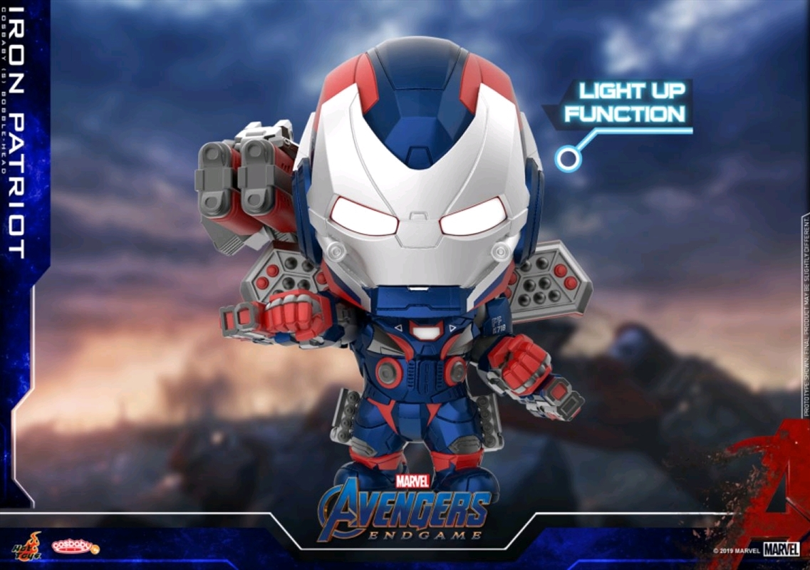 Avengers 4: Endgame - Iron Patriot Light Up Cosbaby | Merchandise