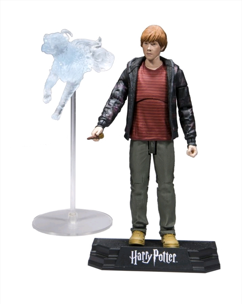 Harry Potter - Ron with Patronus Action Figure | Merchandise