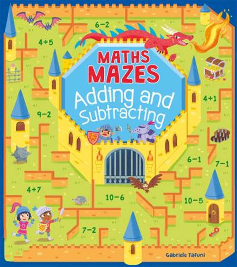 Maths Mazes: Adding & Subtracting | Paperback Book
