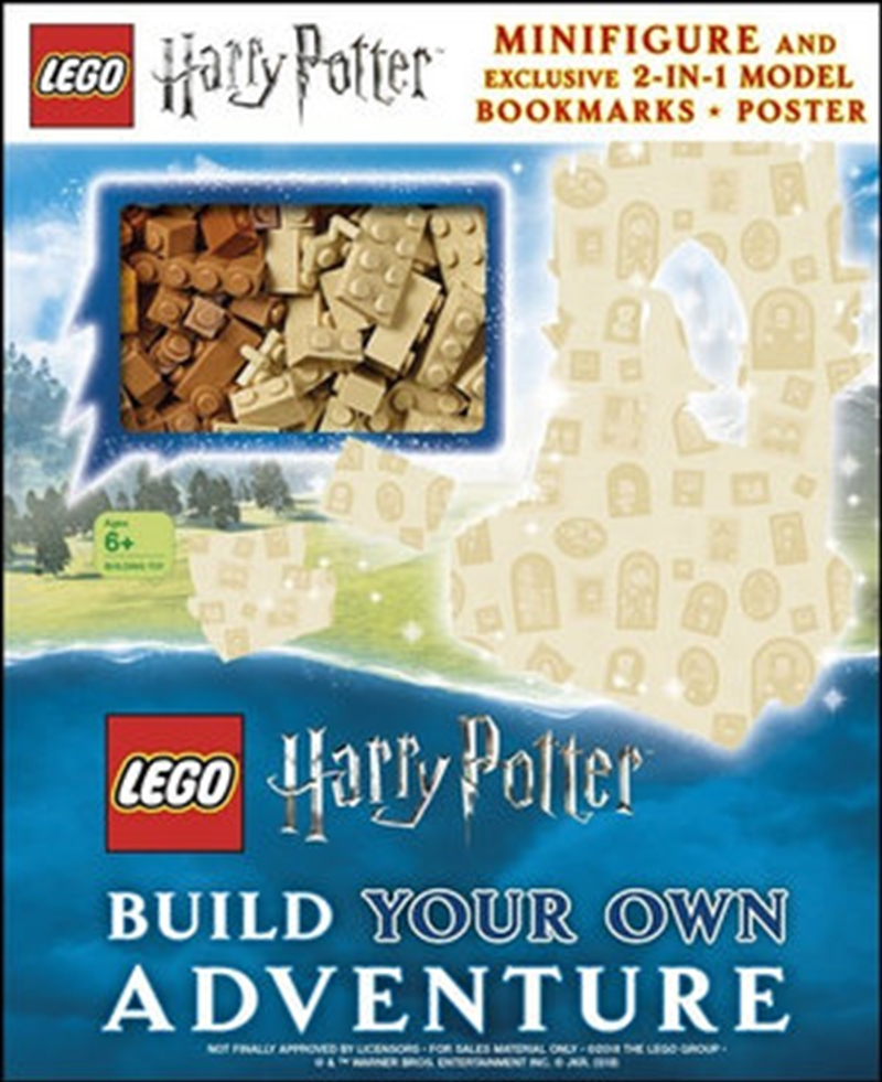 LEGO Harry Potter Build Your Own Adventure | Hardback Book