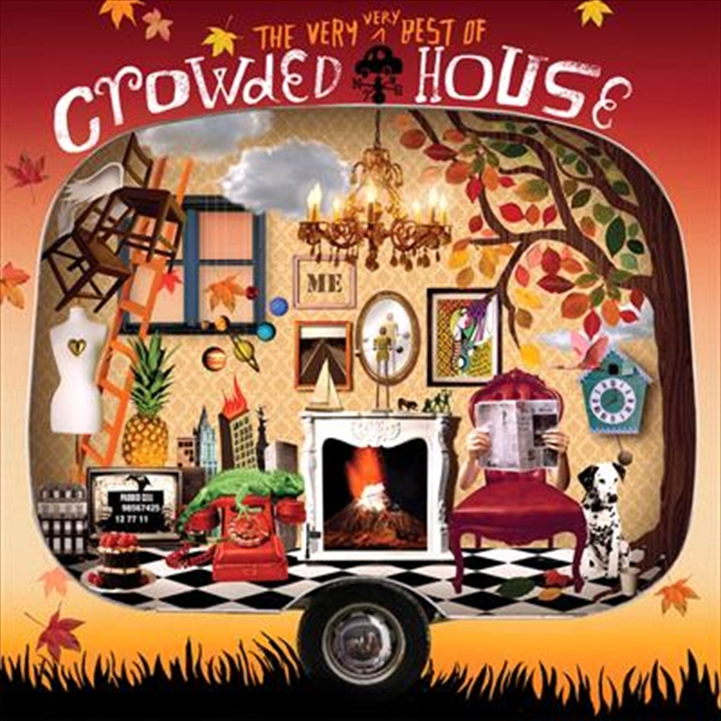 Very Very Best Of Crowded House   Vinyl